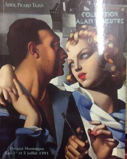 Collection Alain LESIEUTRE, Paris 1989 (edition de luxe en feutrine rouge)  On y...
