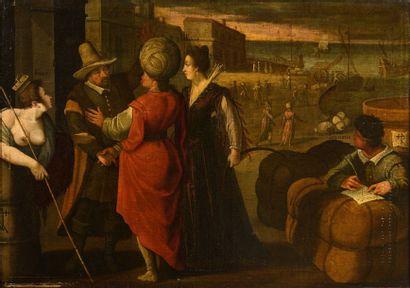 BOLLERY Nicolas (Attribué à)  (1560 – 1630)...