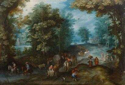 Jan BRUEGHEL le Jeune  (Anvers 1601-1678)...