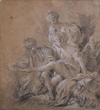 BOUCHER François  (Paris 1703 -1770)  «Le...