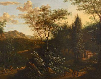 MOUCHERON Frederick de (Attribué à)  (Emden...