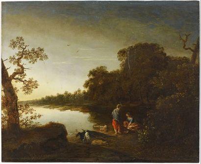 ECOLE HOLLANDAISE  (Seconde Moitié du XVIIe...