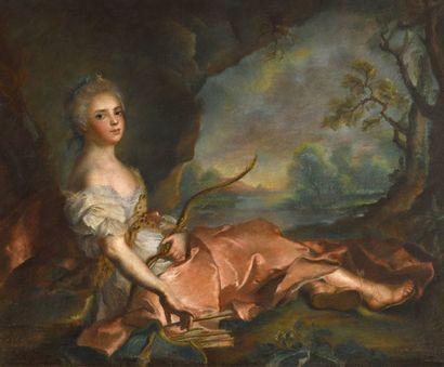 NATTIER Jean – Marc (D'après)  (1685 – 1755)...