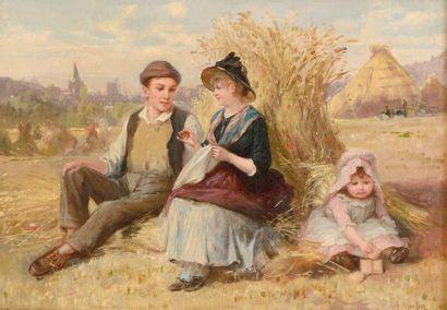 MORLON Paul Emile Anthony  (1845-1905)  «La...