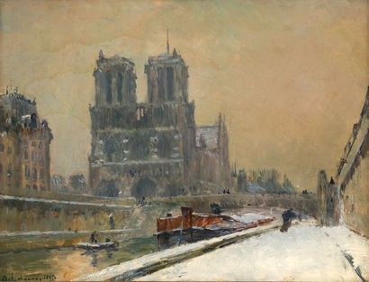 Albert LEBOURG (1849–1928)  «Notre-Dame de...