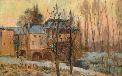 Albert LEBOURG  (1849–1928)  «Le Vieux Moulin...