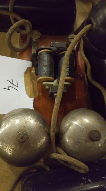 SONNETTES - MATERIEL DE TELEPHONE