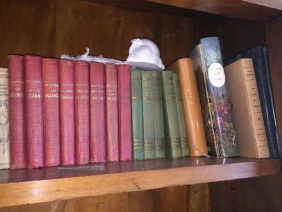 Petit lot de livres reliés et brochés: littérature,...
