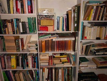 lot de livres brochés et reliés