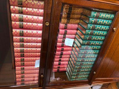 Lot de livres reliés modernes dont, Mémoires...