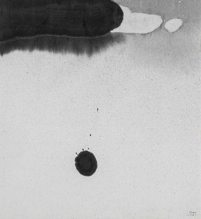 Gao XINGJIAN (Né en 1940)  Allegro, 1997...