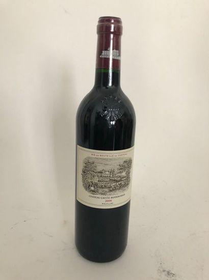 1 bouteille CHATEAU LAFITE ROTSCHILD 2004...