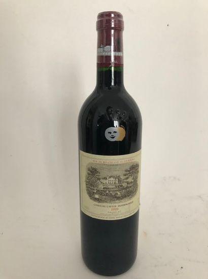 1 bouteille CHATEAU LAFITE ROTSCHILD 1999...