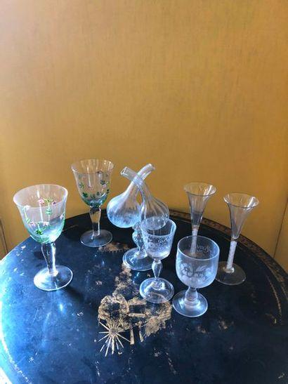 #Lot de verres anciens