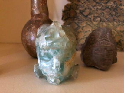 #Lot de 7 objets dans le style de pièces de fouilles archéologiques