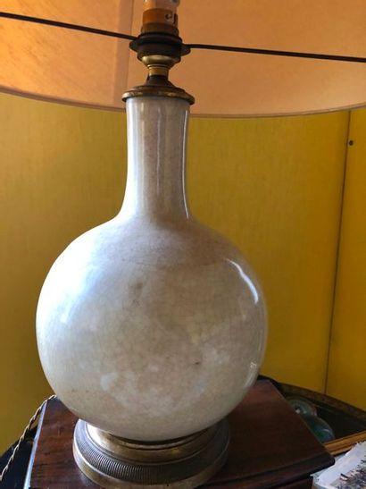 #Vase de panse globulaire en porcelaine «...