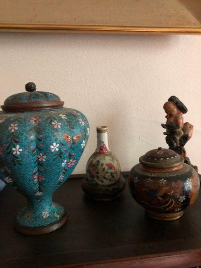 #Lot d'objets asiatique