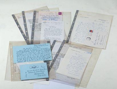 14 Documents autographes pour la sortie du...