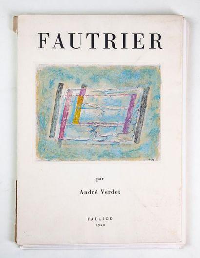 Ensemble de 3 volumes documentation: -Fautrier...