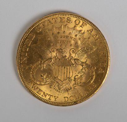Une pièce en or de 20 dollars 1904. Ce lot...