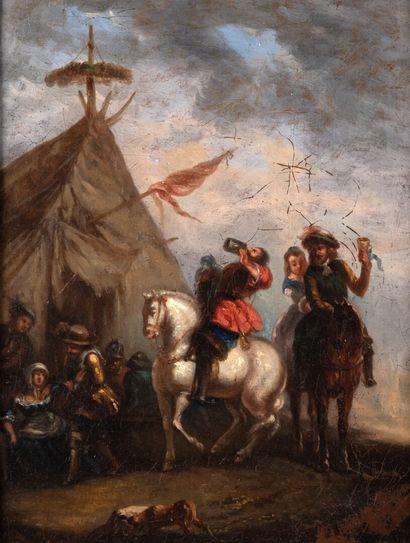 Attribué à Philippe WOUVERMAN 1620-1688 HST,...