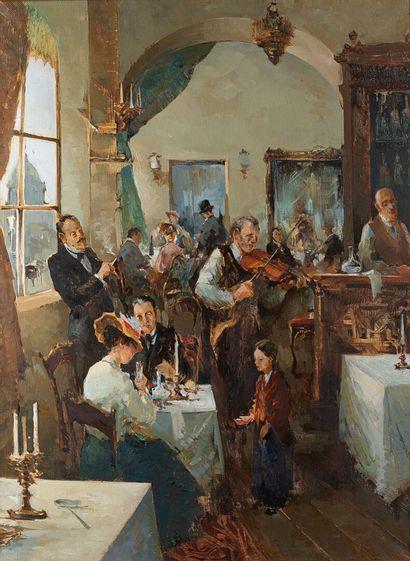 Ecole Russe XIX Attribué à Mikhail POMOMARENKO...