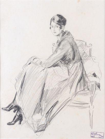 Atelier de JEAN GABRIEL DOMERGUE 1889-1962...