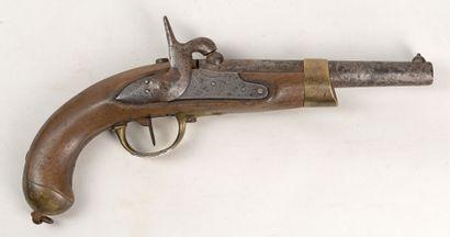 Pistolet an 13 T de cavalerie, platine marqué