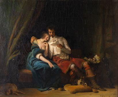 Alexandre-Evariste FRAGONARD 1780-1850