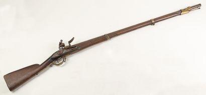 Fusil d'infanterie type 1763, platine à silex...