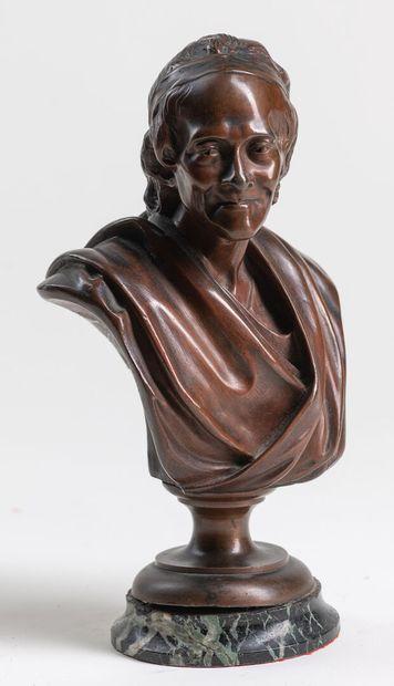 Attribué à Jean-Antoine HOUDON 1741-1828...