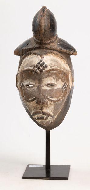 PUNU/LUMBO GABON/CONGO Masque féminin de...