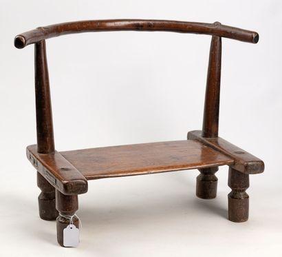 DAN R.COTE D'IVOIRE Belle chaise en bois...
