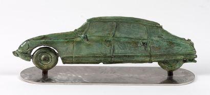 Georges LAURENT 1940 Profil DS Bronze sur...