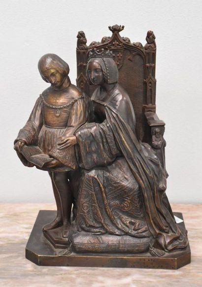 Bronze de style néo-gothique
