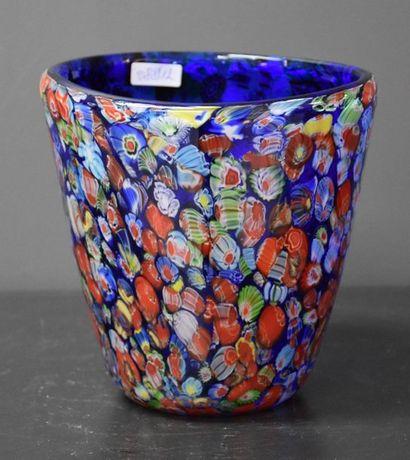 Vase en verre vintage probablement Murano...