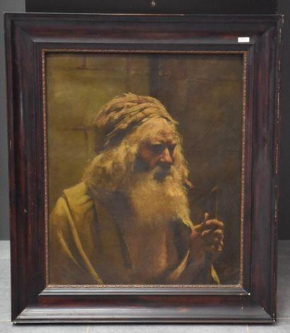 Jules Rullens ( 1858 - 1936 ) . Portrait...