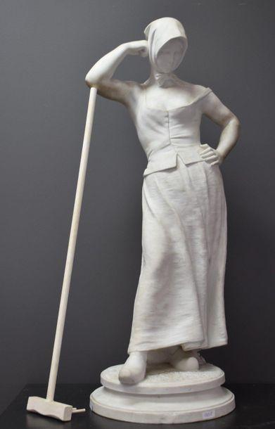 Alfred Boucher ( 1850 - 1934 ) . Sculpture...