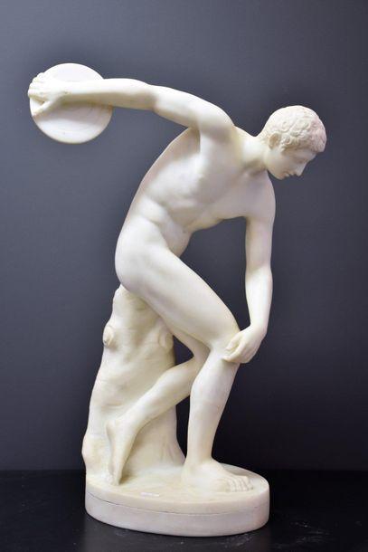 Antonio FRILLI (c.1880-1920). Le discobole...