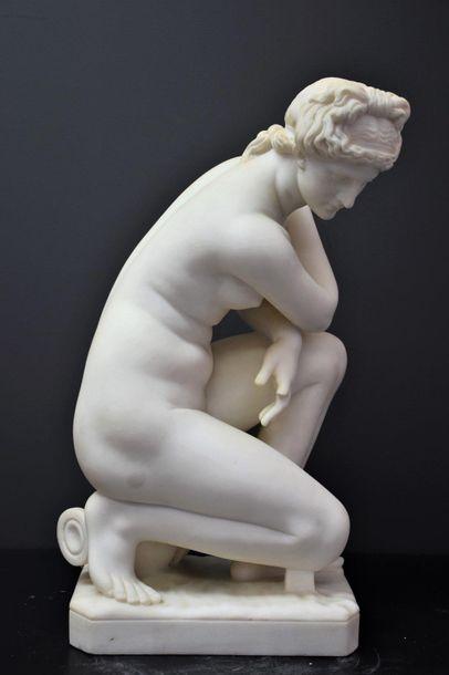 Antonio FRILLI (c.1880-1920). Vénus à l'antique...