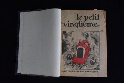 Le petit XXème. Fascicules de l'année 1934...