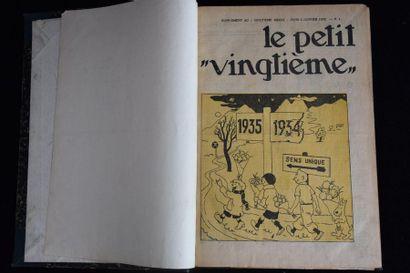 Le petit XXème. Fascicules de l'année 1935...