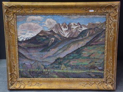 Georges Morren ( 1868 - 1941 ) . Huile sur...