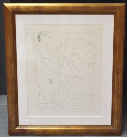 Pablo Picasso ( 1881-1973 ), lithographie...