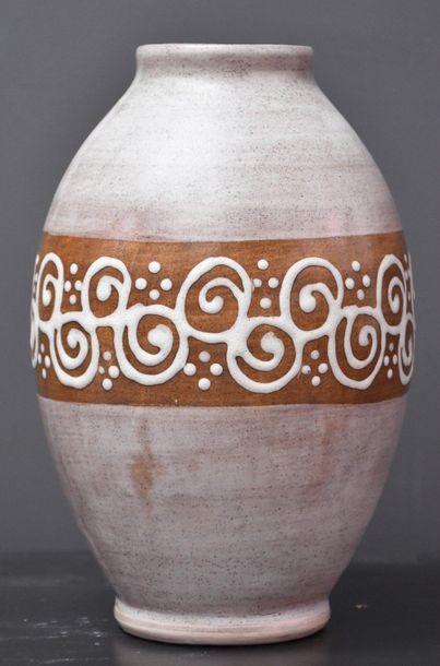 Vase boch keramis à décor mat finish à décor...