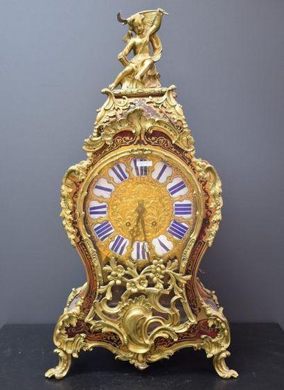 Cartel de style Louis XV, époque Napoléon...