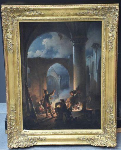 Jan Michiel Ruyten ( 1813 - 1881 ) . Scène...