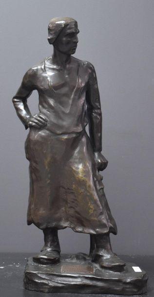 Joseph Alfred Van Gent ( 1877 - ? ) . Bronze...