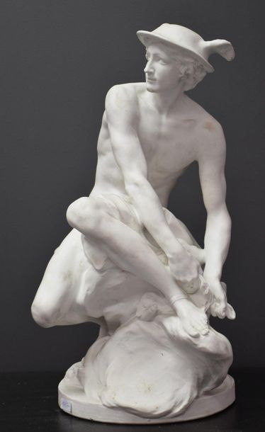 Pigalle Jean Baptiste ( 1714 - 1785 ). D'après....