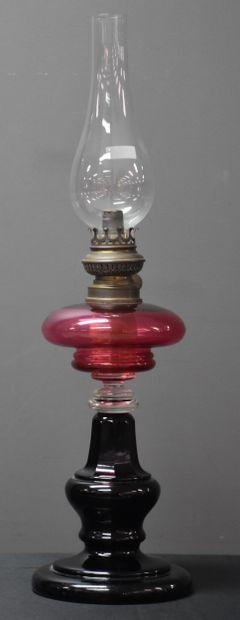 Lampe à pétrole en cristal 3 couleurs de...
